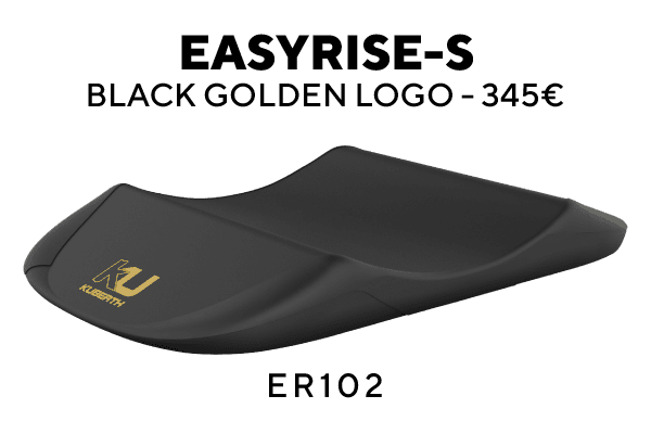 Easyrise-S Black with Golden Logo
