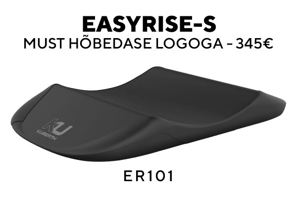 Easyrise-S Must hõbedase logoga